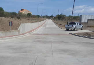 Jeems Road Project on Statia enters Maintenance Phase