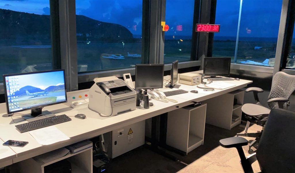 New AFISO Tower in operation on St. Eustatius