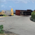 Container full of Gas Cylinders Topples over on Pier in Bonaire