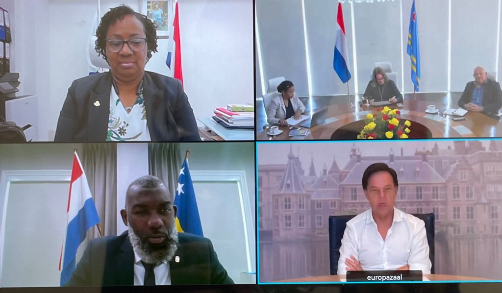 Prime Ministers of the Dutch Kingdom hold first Ministerial Consultation