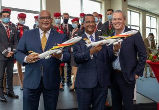 Air Belgium Welcomed in Curaçao