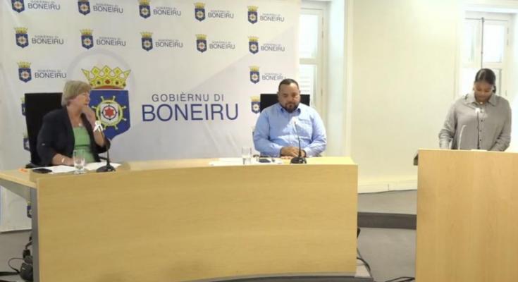 Due to Delta-strain: Bonaire back to Risk Level II