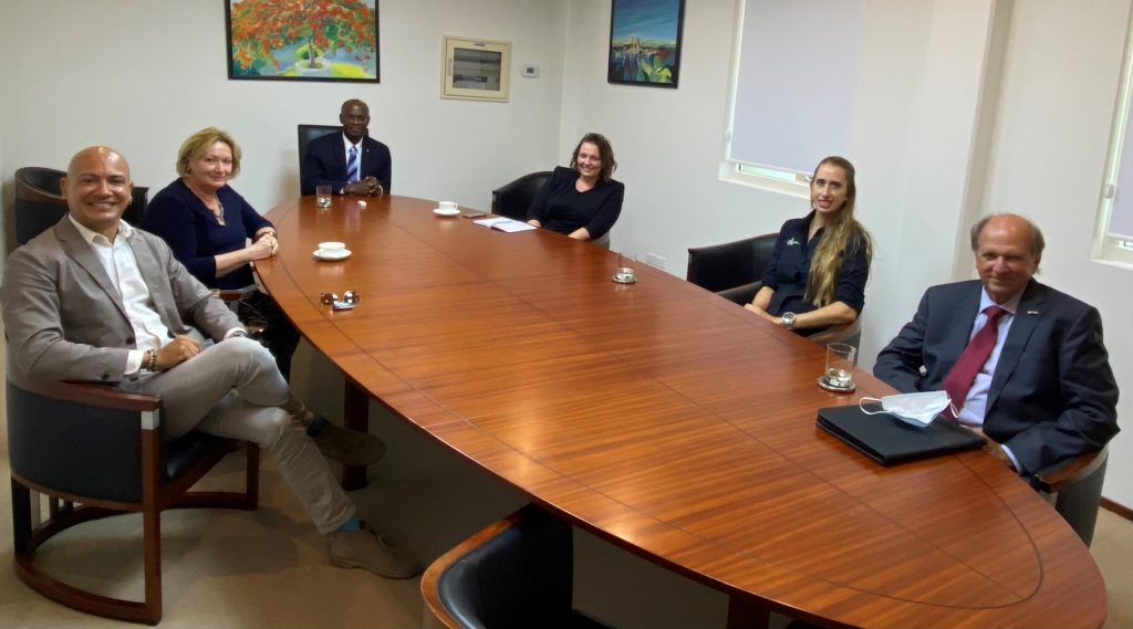 DCNA Concludes Working Visit to Saba, St. Eustatius and Sint Maarten