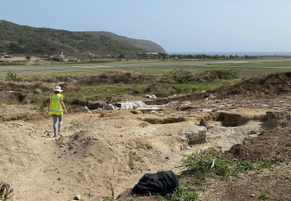 Statia Government mum on situation with halted Excavations