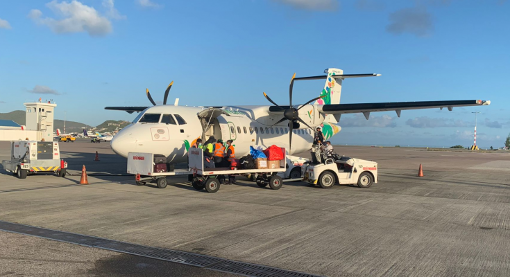 Winair cancels all ATR flights till August 7