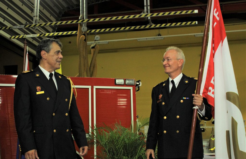 Thijs Verheul appointed Commander General of the Caribbean Netherlands Fire Department