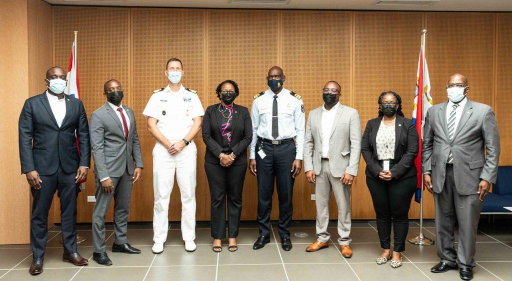 SXM Government receives presentation on Coast Guard