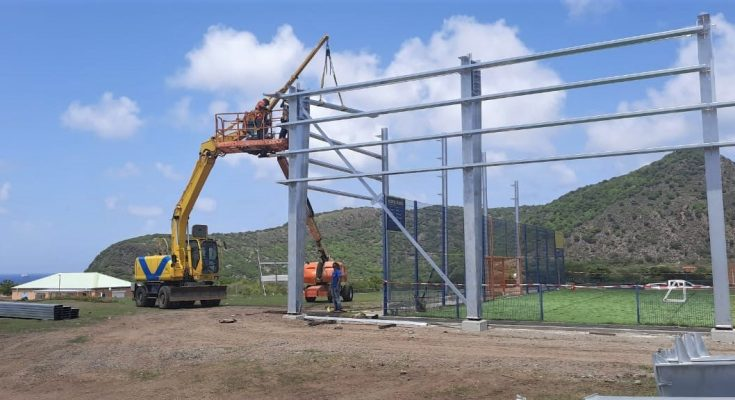 Kruyff Court St. Eustatius temporarily closed for Renovations