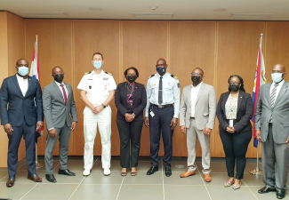 Coast Guard introduced to SXM Council of Ministers