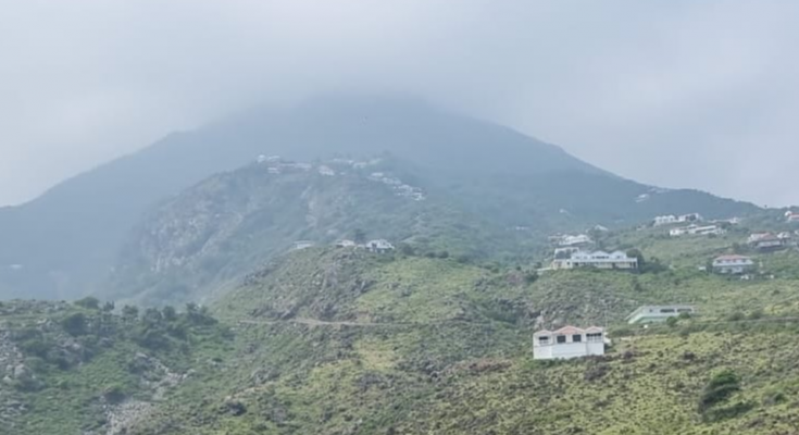 Saba plagued by lots of Sahara Dust these days