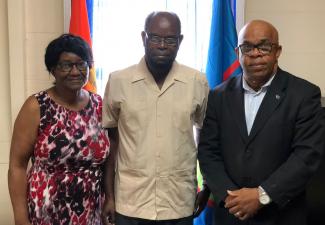 Van Putten welcomes New Methodist Church Minister